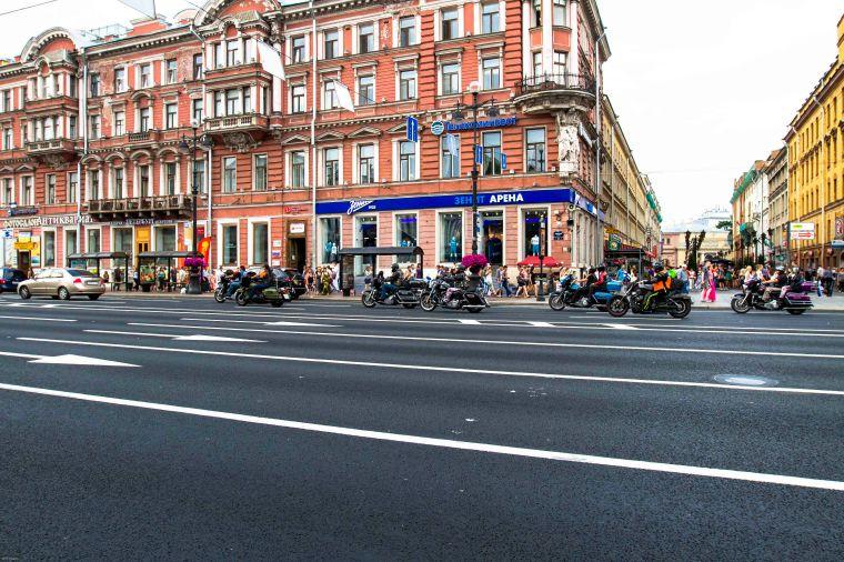 Saint Petersburg street.