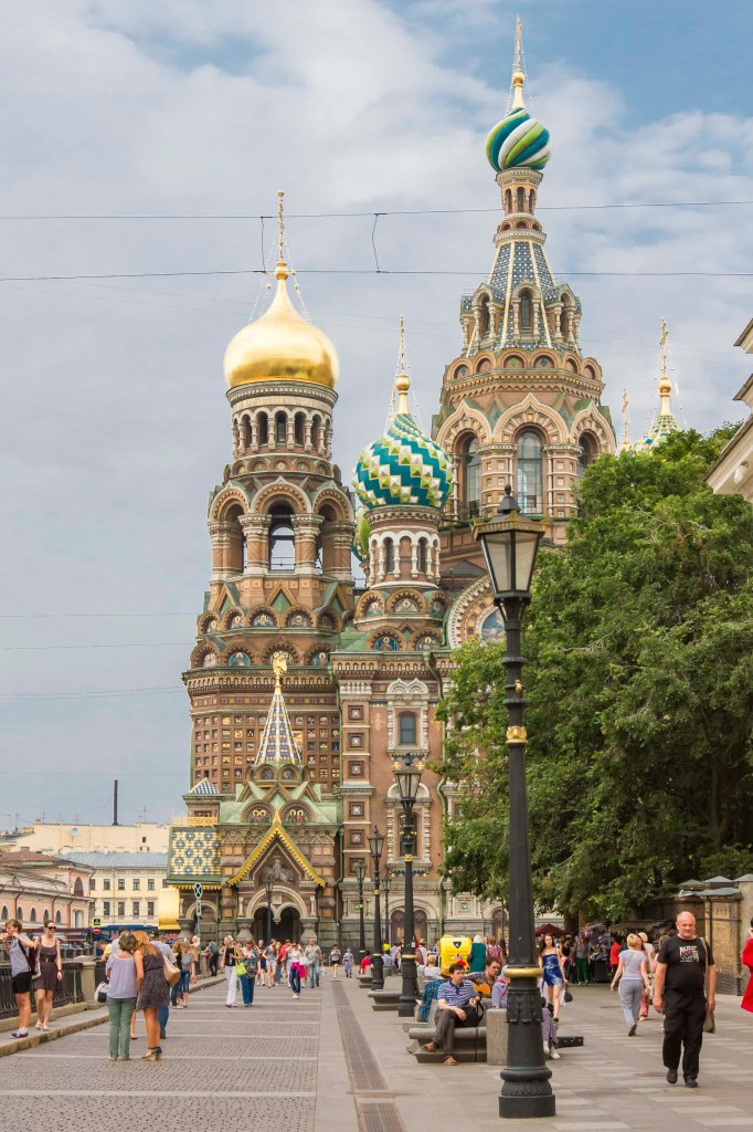 Saint Petersburg, Church of the Savior on Blood