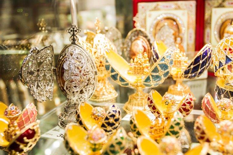 Souvenirs Saint Petersburg.